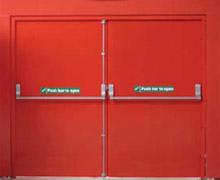 Fire doors  sc 1 st  Access \u0026 Security Systems Ltd & Fire exit doors steel communal entrance doors emergency exit doors ...